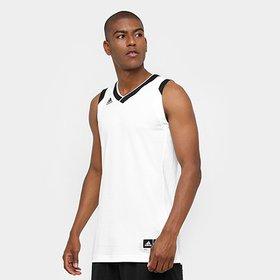 Camiseta Regata Adidas Treino Reversivel Masculina - Azul - Compre ... 7c3ff2ebbe9