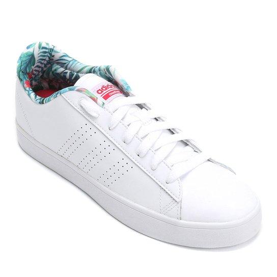 962650575 Tênis Couro Adidas Cf Daily Qt Clean W Feminino | Netshoes
