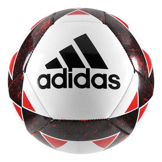 Bola Futebol Campo Adidas Starlancer V - Branco e Vermelho - Compre ... cf4e418450a33