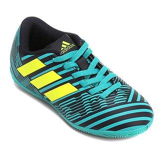 875999c4df Chuteira Futsal Infantil Adidas Nemeziz 17.4 In