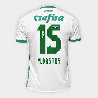 Camisa Palmeiras II 17 18 nº 15 - M. Bastos Torcedor Adidas Masculina 9fc83237e87c5