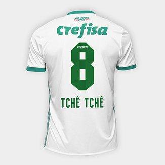 Camisa Palmeiras II 17 18 nº 8 Tchê Tchê Torcedor Adidas Masculina 8230c99dda05b