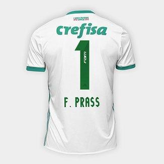 Camisa Palmeiras II 17 18 nº 1 - F. Prass Torcedor Adidas Masculina dcd14b0b2b212