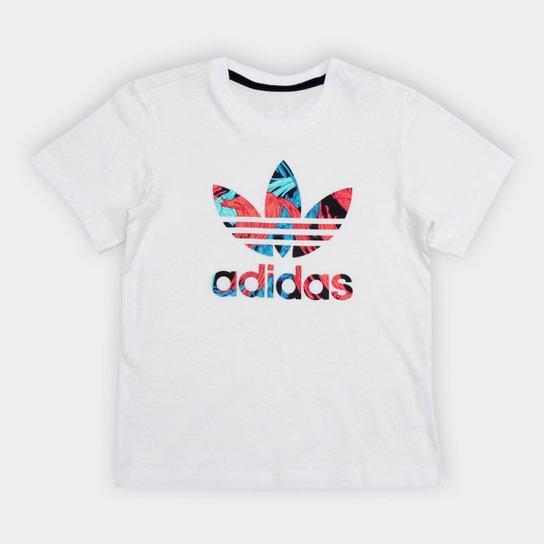 a3c81b0fab8 Camiseta Infantil Adidas Feather C - Compre Agora
