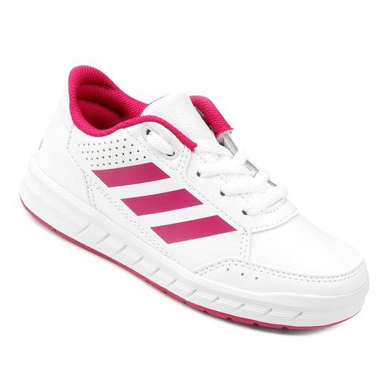334842581e3 Tênis Infantil Adidas Altasport K - Branco - Compre Agora