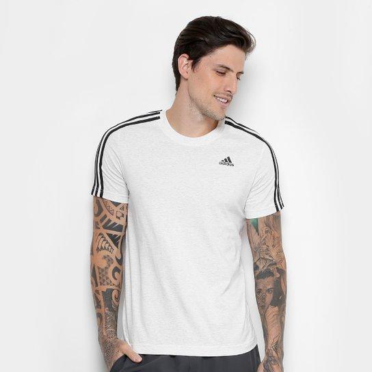 Camiseta Adidas Essentials 3 Stripes Masculina - Compre Agora  52f48d9a56a76