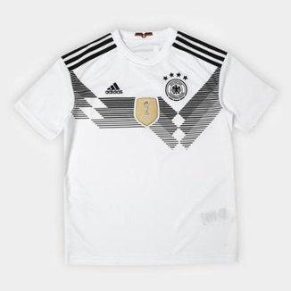 Camisa Infantil Seleção Alemanha Home 2018 s n° Adidas Torcedor 0b3d2f269b32e