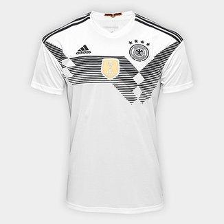 Camisa Seleção Alemanha Home 2018 s n° Torcedor Adidas Masculina 8252f47037a9e
