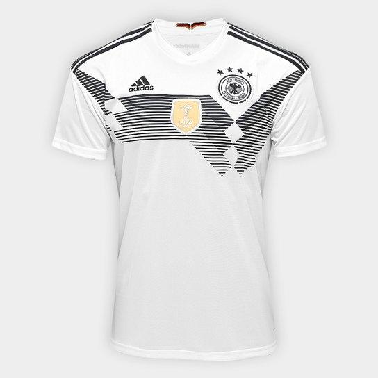 c46e85bde6 Camisa Seleção Alemanha Home 2018 s n° Torcedor Adidas Masculina - Branco