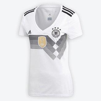 cbc0fd0aaa Camisa Seleção Alemanha Home 2018 s n° Torcedor Adidas Feminina