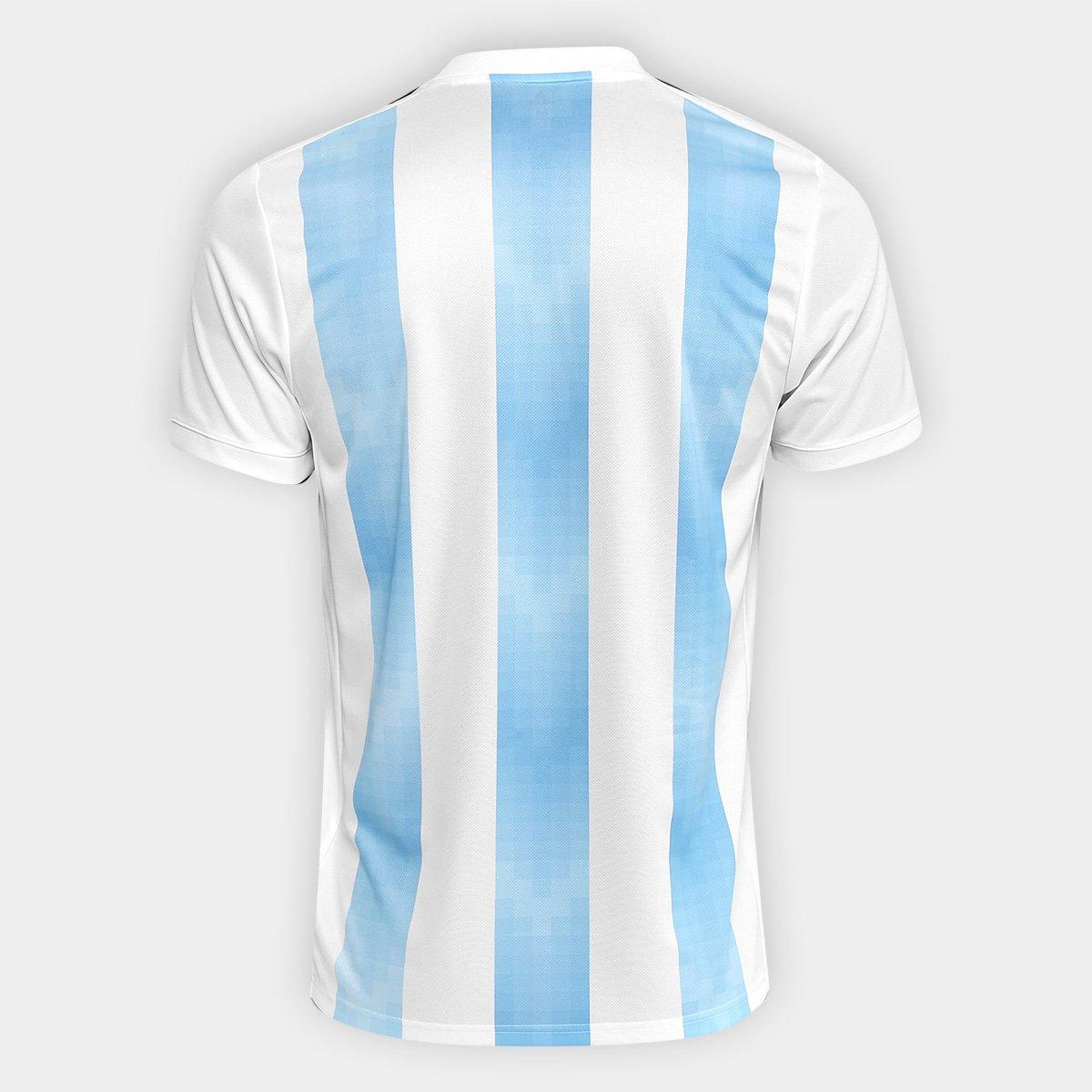b988434a01b98 Camisa Seleção Argentina Home 2018 s n° Torcedor Adidas Masculina ...