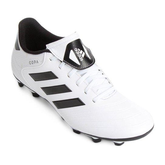 Chuteira Campo Adidas Copa 18 4 FXG - Branco - Compre Agora  5740b85d3b27e