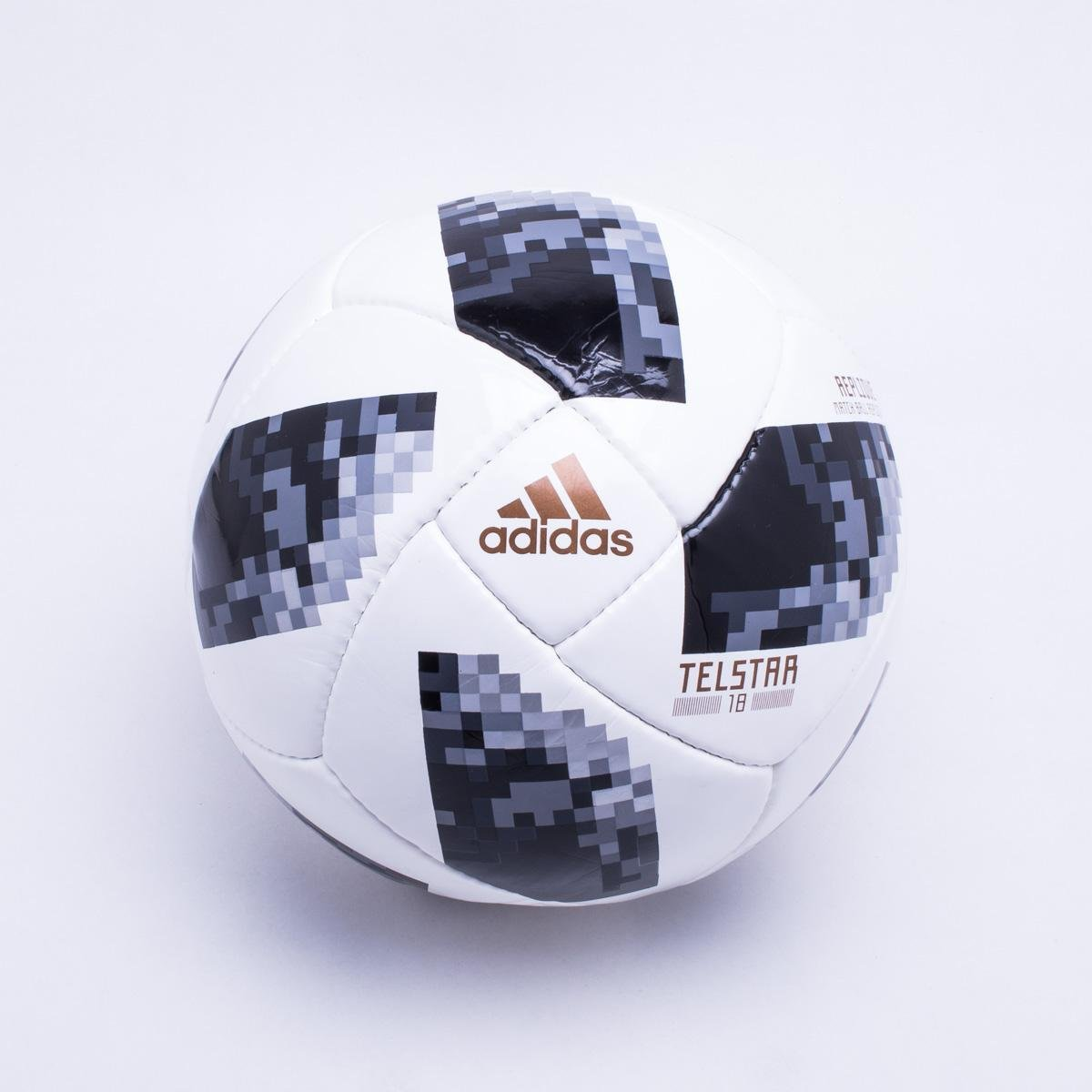 e4c63d0cd3 Bola Futebol Campo Adidas Telstar 18 Copa do Mundo Replique FIFA