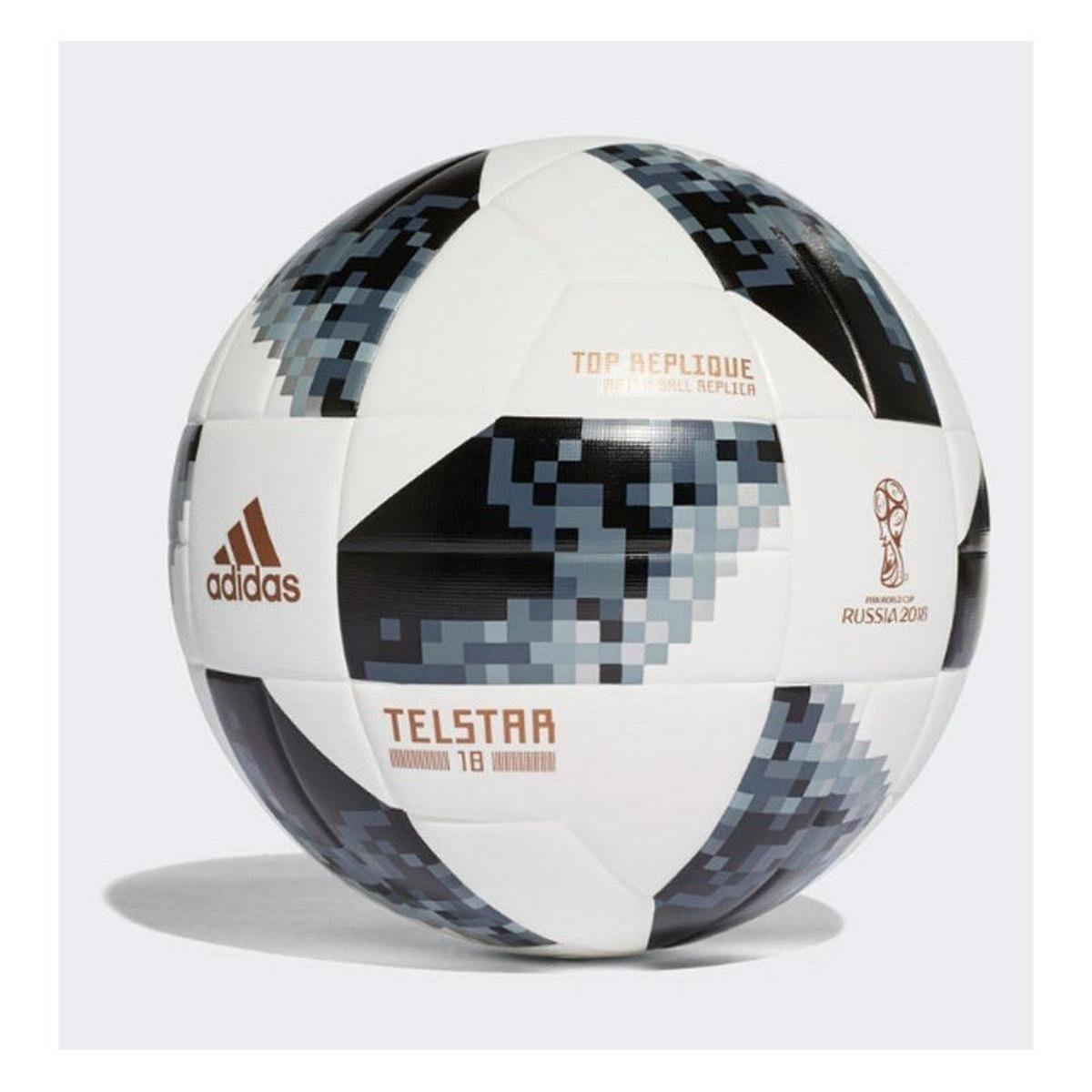 b462f087b 25%OFF Bola Futebol Campo Adidas Telstar 18 Copa do Mundo TOP Replique FIFA