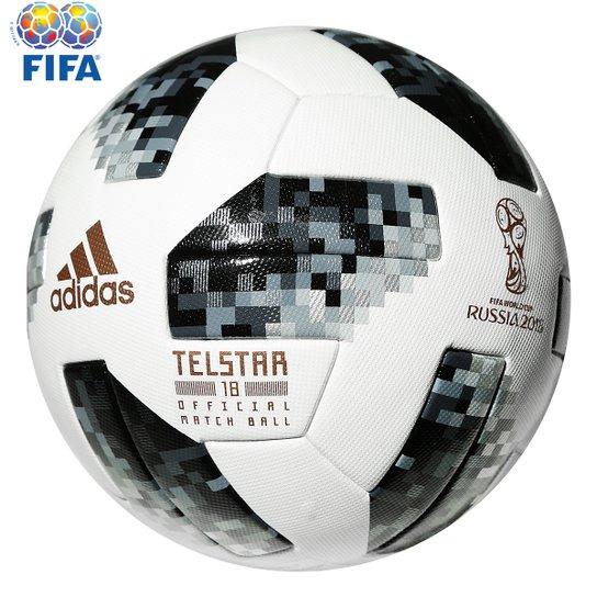09465cc0c4 Bola Futebol Campo Adidas Telstar 18 OMB Copa do Mundo FIFA - Compre ...