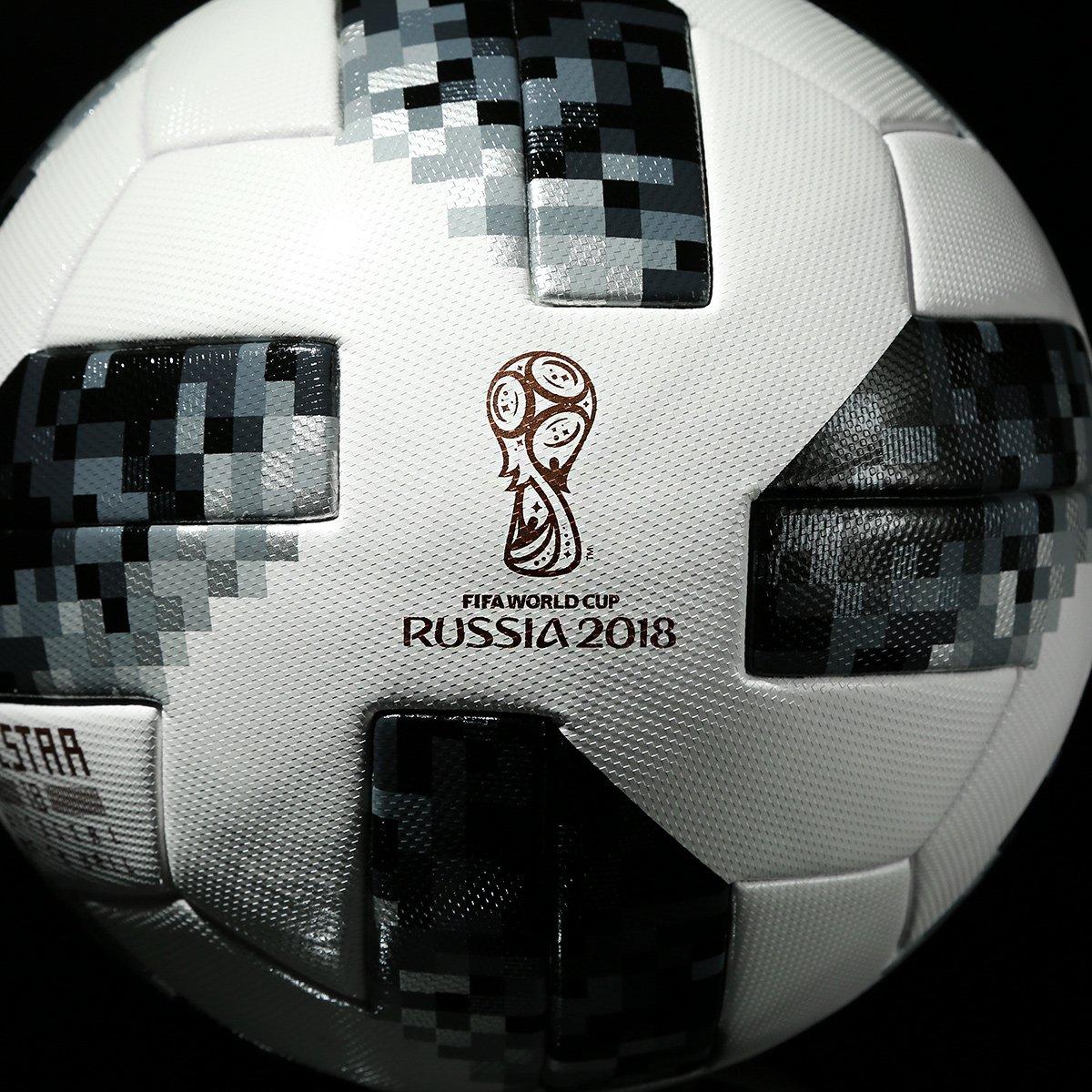 9e57c320ee7cd Bola Futebol Campo Adidas Telstar 18 OMB Copa do Mundo FIFA