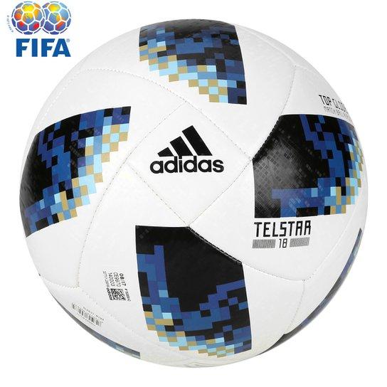 f286e545c38c2 Bola Futebol Campo Adidas Telstar 18 TOP Glider Argentina Copa do Mundo FIFA  - Branco