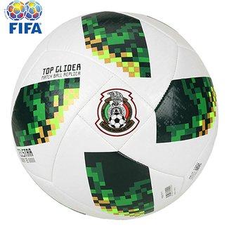 Bola Futebol Campo Adidas Telstar 18 TOP Glider México Copa do Mundo FIFA 3bf6accb82040