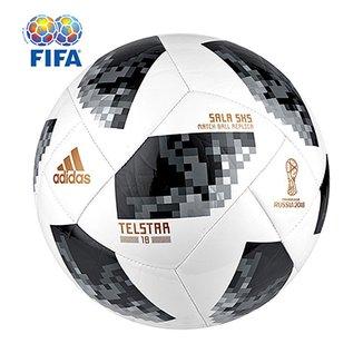 Bola Futsal Adidas Telstar 18 5x5 Copa do Mundo FIFA 3b7ce229ab4e0