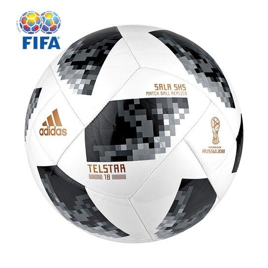 301213b177 Bola Futsal Adidas Telstar 18 5x5 Copa do Mundo FIFA - Compre Agora ...
