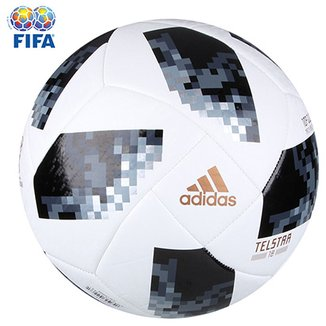2bee380124cd7 Bola Futebol Campo Adidas Telstar 18 Top Glider Copa do Mundo FIFA