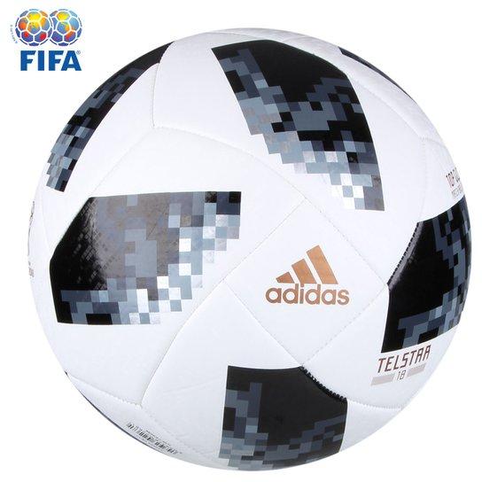 f24ef5f4e1 Bola Futebol Campo Adidas Telstar 18 Top Glider Copa do Mundo FIFA - Branco