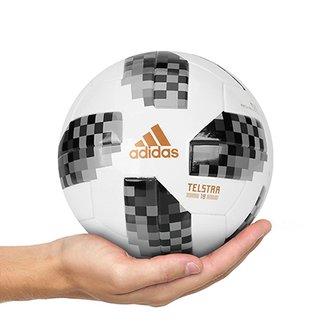 Mini Bola Adidas Telstar 18 Copa do Mundo 802ada884f5b7