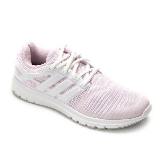 27229d82f Tênis Adidas Energy Cloud V Feminino - Branco e Rosa - Compre Agora ...