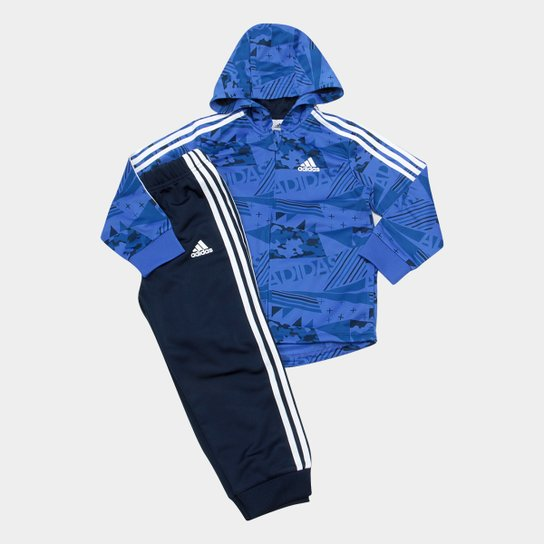 5faa9104102 Agasalho Infantil Adidas Shin Fzh Masculino - Compre Agora