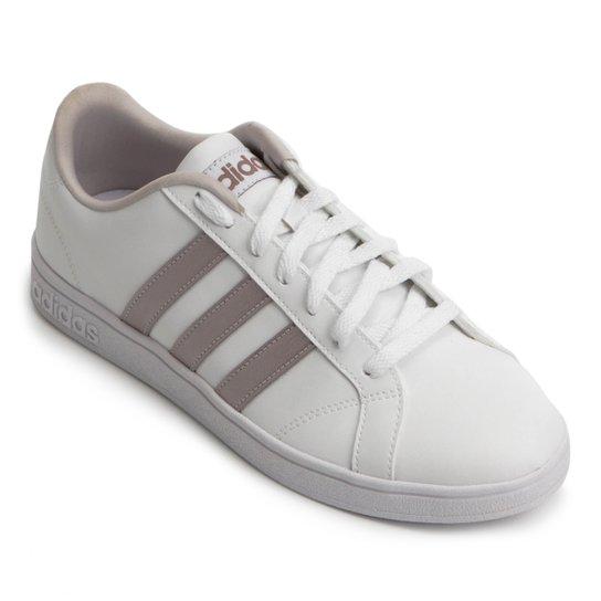 ded8bd954 Tênis Adidas Vs Advantage Feminino - Branco - Compre Agora