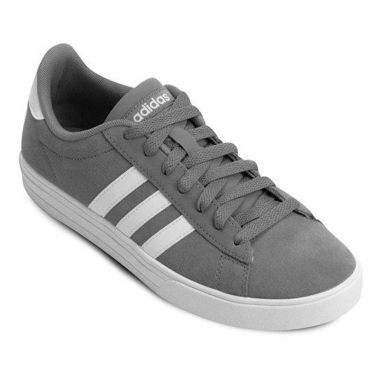 9c16676df5a Tênis Adidas Daily 2 Masculino - Cinza e Branco - Compre Agora ...