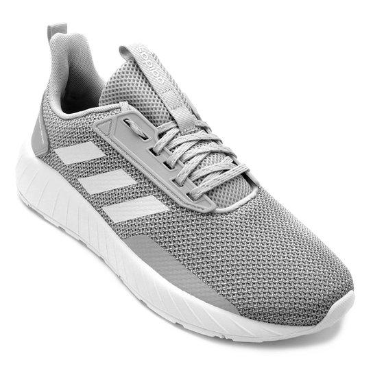 f6463ddfa8 Tênis Adidas Questar Drive Masculino - Cinza e Branco - Compre Agora ...