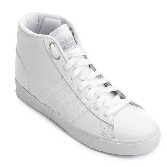 004d7df8610 Tênis Adidas Cloudfoam Daily QT Feminino - Branco - Compre Agora ...
