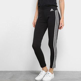 ee4c4548eb15d Calça Legging Adidas Essentials 3S Feminina