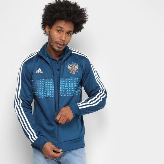 28fd9153f16 Jaqueta Seleção Rússia Adidas 3S Masculina - Compre Agora