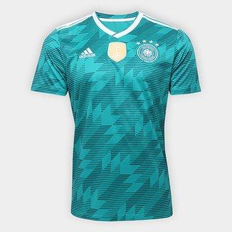 5ed22ecd70 Camisa Seleção Alemanha Away 18 19 s n° Torcedor Adidas Masculina