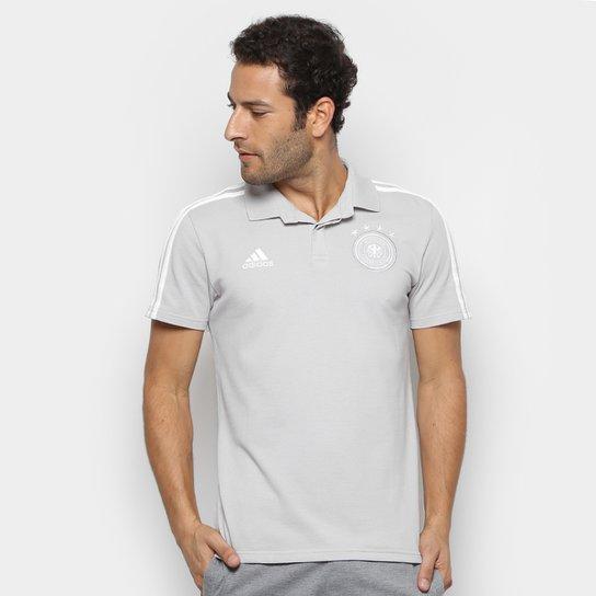 ca1ab572257a9 Camisa Polo Alemanha Adidas Masculina - Branco - Compre Agora