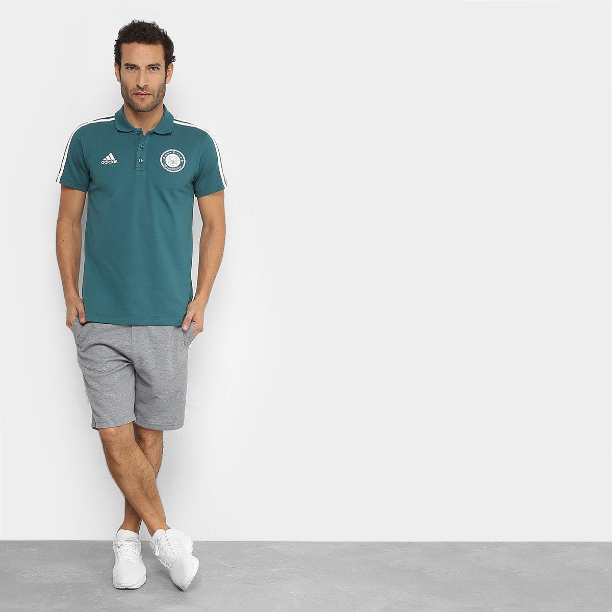 Camisa Polo Palmeiras 3S Adidas Masculina - Tam: P - 2