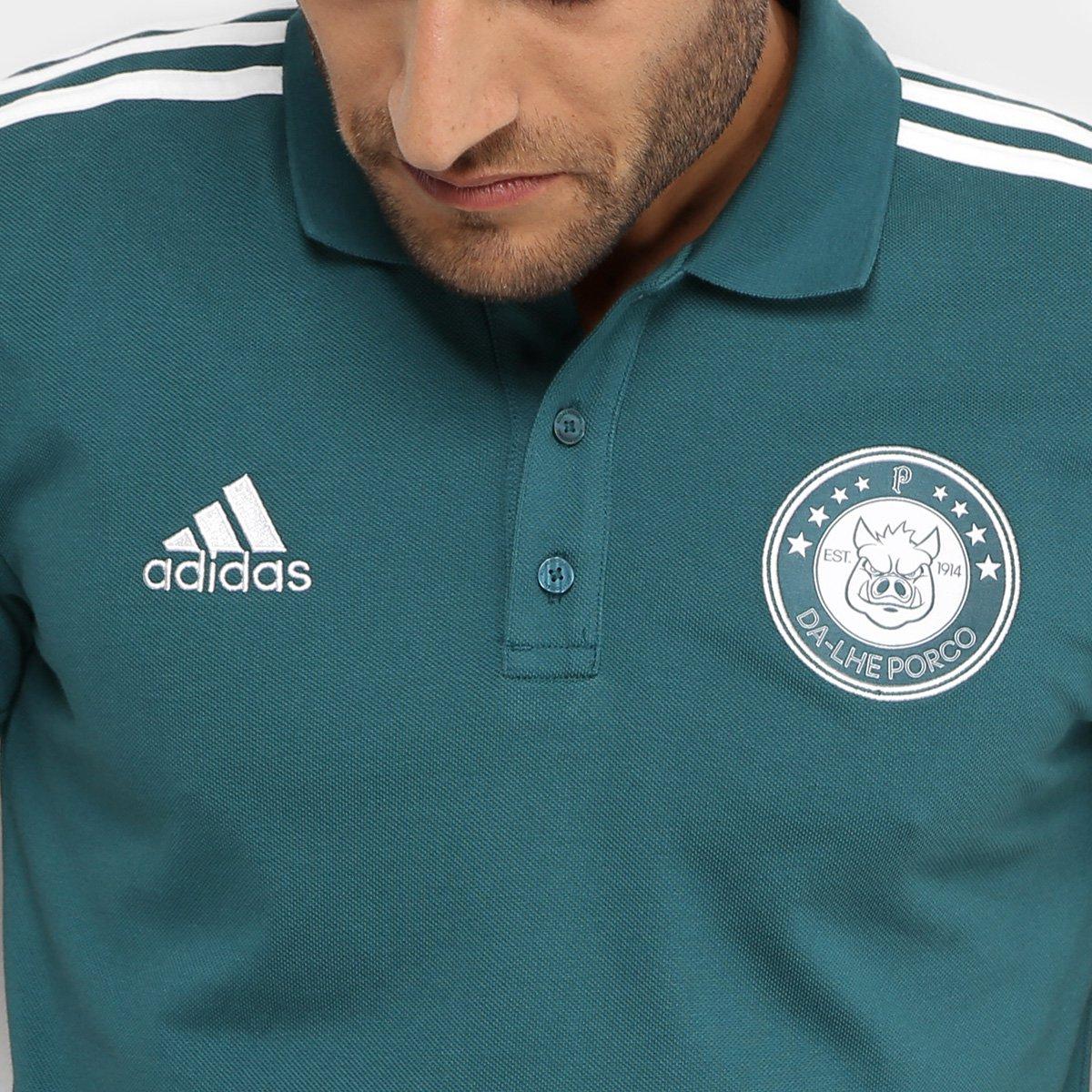Camisa Polo Palmeiras 3S Adidas Masculina - Tam: P - 3
