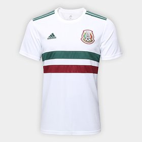 Camisa Seleção México Home 2016 s nº Torcedor Adidas Masculina ... 25663ab5f7dea
