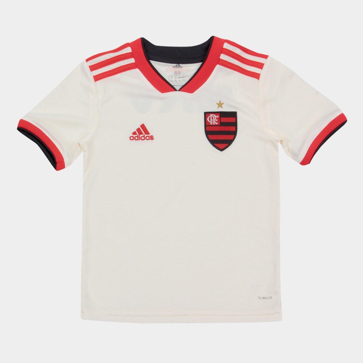 Camisa Flamengo Infantil II 2018 s n° Torcedor Adidas 0585c27cd4862