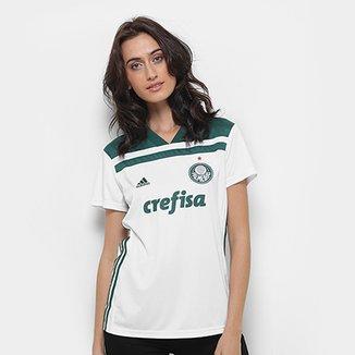 d7159c6fa6 Camisa Palmeiras II 2018 s n° Torcedor Adidas Feminina