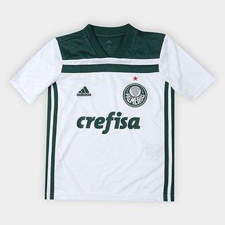 95ca421ee0687 Camisa Palmeiras Infantil II 2018 s n° Torcedor Adidas