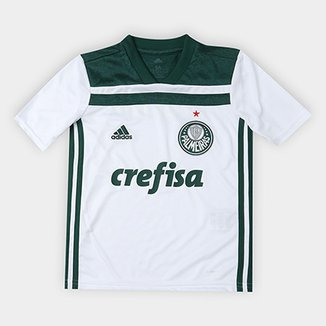 82177dd85f Camisa Palmeiras Infantil II 2018 s n° Torcedor Adidas