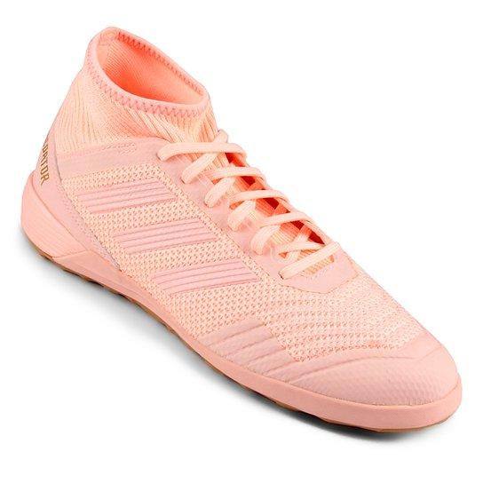 ed5de134c Chuteira Futsal Adidas Predator Tan 18 3 IN - Rosa Claro | Netshoes