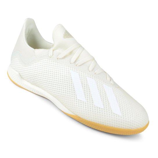 6f34712b6b09b Chuteira Futsal Adidas X Tango 18 3 IN - Branco | Netshoes