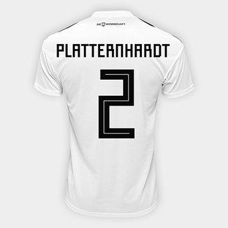 Camisa Seleção Alemanha Home 2018 n° 2 Plattenhardt - Torcedor Adidas  Masculina 14f3040778ea4