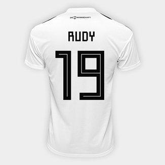 7e50539507f63 Camisa Seleção Alemanha Home 2018 n° 19 Rudy - Torcedor Adidas Masculina