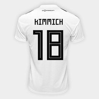 Camisa Seleção Alemanha Home 2018 n° 18 Kimmich - Torcedor Adidas Masculina 5a8686f4d0328