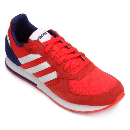54ec52372a Tênis Adidas 8K Masculino - Vermelho e Azul - Compre Agora
